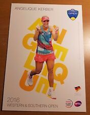ANGELIQUE KERBER 5X7 2016 WESTERN & SOUTHERN ATP TENNIS COLLECTOR CARD