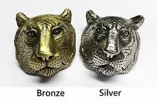 Boy Scout Tiger Bronze/Silver Woggle/neckerchief slide item no. WK90