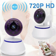 Wireless WIFI Pan 720P Home Security Surveillance IP Camera Night Vision Webcam