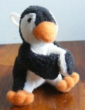 "Only Hearts Club pet ""Waddles"" baby penguin w/ clip RARE stuffed plush animal"