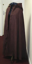 Gorgeous Brown Cotton Corduroy Adult Unisex Cloak - Legoslas/Frodo