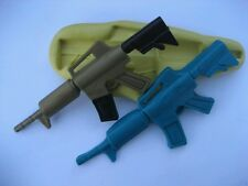 Large Gun 91mm Flexible silicone mold for chocolate fondant clay & more