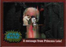 1999 Topps Star Wars Chrome Archives #2 A Message From Princess Leia!   R2-D2