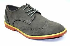 New-Mens-Fashion-Oxfords-Lace-up-Dress-Comfort-Casual-Suede shoes