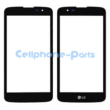 LG Tribute 5 K7 LS675 K330 MS330 Front Screen Glass Lens Black Replacement USA