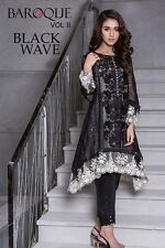 Pakistani Dress Baroque Inspired Shalwar Kameez, Cigarette Pants, Indian Clothes