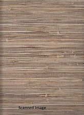 89472 Natural Grasscloth Wallpaper Chestnut Brown Background