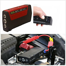 12V Portable 2USB Red Car 16800mAh Power Bank Jump Starter Emergency Battery Kit