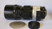 Nikon F Nikkor-P 300mm f4.5 Pre AI Prime Telephoto Lens Manual Focus Inc Caps