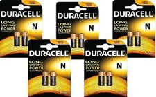 10 X PILE DURACELL SECURITY LR1 (1.5 V) N E90 R1 MN9100 LADY AM5 KN BATTERY