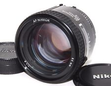 [Excellent+++] Nikon AF Nikkor 85mm f/1.8 Portrait Lens from JAPAN