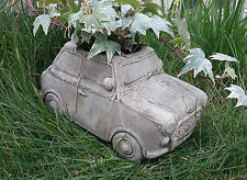 STONE GARDEN 'MINI' CAR PLANTER VEHICLE TROUGH POT