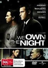WE OWN THE NIGHT Joaquin Phoenix, Mark Wahlberg, Eva Mendes DVD NEW