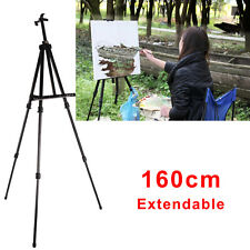 1.6m Artist Field Studio Painting Easel Tripod Display Stand white board sign