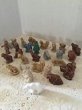 WADE RED ROSE TEA  FIGURINES LOT