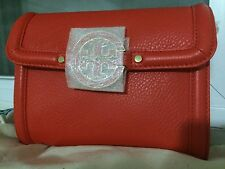 NWT TORY BURCH CLUTCH SHOULDER BAG BLOOD ORANGE 18169266