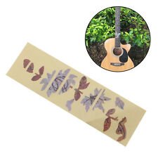 Guitar Bass Inlay Sticker Fretboard Marker DIY Flowers Butterfly Decal Thin New