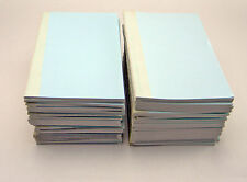 "LOT OF 50 BOORUM & PEASE OLD STYLE ADDRESS BOOKS 5"" x 8"" IVORY REFILL"