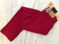 $185 New LEVIS MADE & CRAFTED 30 x 32 JESTER RED TACK SLIM CORDUROY JEANS NWT