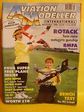 AMI AVIATION MODELLER INTERNATIONAL NOVEMBER 1996 ASTRO OINK MINI SUPER PLANS