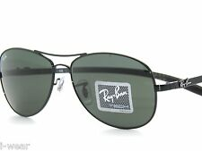 FINAL SALE__RAY BAN sunglasses 8301 002 59 BLACK TECH CARBON RAYBAN