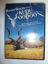 Regis Giles Presents Kudu Voodoo DVD African safari hunting video antelope NEW!