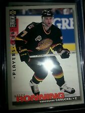 1995-96 Upper Deck Collectors Choice Players Club #17 Canucks C Cliff Ronning