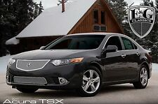 2011-2014 Acura TSX 2pc Fine Mesh Grille - Open Mesh - Mirror Stainless Steel