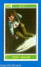 Figurina/Sticker CAMPIONI DELLO SPORT 1967/68-n. 518 - TONY SAILER - SCI -rec