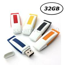 32GB USB 2.0 Flash Memory Stick Data Storage Thumb Pen Drive U Disk Novel Gift