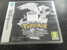 Ds-pokemon noir-neuf et scellé-officiel-uk-rapide post
