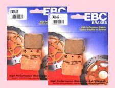 2x Sets EBC FA084 TT Front Brake pads for SUZUKI LTZ LT-Z 250 & LT-Z 400 2003-12