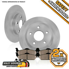 2 Rear Brake Rotors and Ceramic Pads 2005 2006 2007 2008 2009 2010 HONDA ODYSSEY