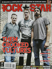 ROCKSTAR 351 2010 Them Crooked Vultures Kiss Peter Gabriel Arctic Monkeys Jonsi