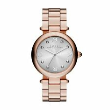BRAND NEW MARC JACOBS MJ3484 ROSE GOLD STAINLESS STEEL 3-HAND WOMEN'S WATCH