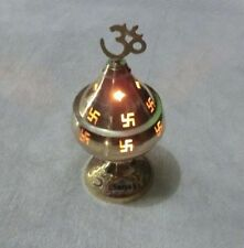 Beautiful Akhand Jyoti/Diya/Deepak/Jot Oil Brass Lamp 18x9cm (Approx.)