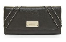 CLEARANCE SALE BNWT NINE WEST Zippy Grain Checkbook Secretary Trifold Wallet