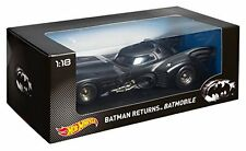 Hot Wheels 1:18 Scale 1992 Batman Returns Diecast Batmobile CMC96 NEW