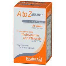 HEALTH AID A TO Z MULTIVIT - 30 TABLETS