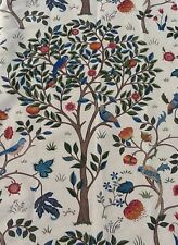 William Morris Curtain Fabric 'Kelmscott Tree'  1.2 Metres