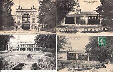 Lot 4 cartes postales anciennes AIX-LES-BAINS villa des fleurs