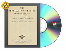 The Septuagint version of the Old Testament and Apocrypha/English Tra Book On CD