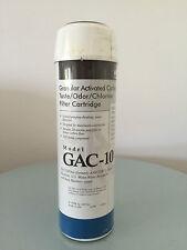 GAC 10 GRANULATAR ACTIVATED CARBON TASTE/ODOR/CHLORINE WATER FILTER CARTRIDGE