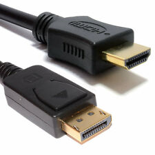 1m DisplayPort Plug to HDMI Male Plug Display/Monitor/TV Cable [007546]