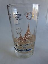 Beer Drink Glass    Expo 67 Montreal Canada 1867-1967 ~ German Pavilian, Germany