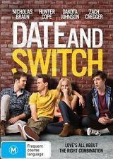 Date And Switch DVD Movie BRAND NEW SEALED NEW RELEASE R4