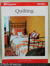 "Genuine Husqvarna Viking ""Quilting"" Instruction Book Quilter's Kit I, II, & III"
