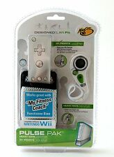 NEW Nintendo Wii Fit PULSE PAK Heart Rate Monitor Remote WHITE my fitness coach