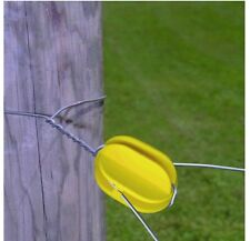 Fi-Shock ICY-FS Electric Fence Insulator, Yellow