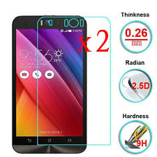 2Pcs 9H+ Premium Tempered Glass Screen Protector For Asus Zenfone Selfie ZD551KL